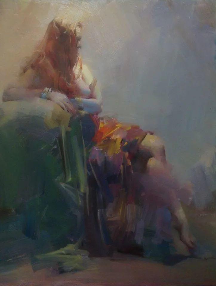 油画大师吴兆铭,于色彩中寻求艺术的真谛!插图155
