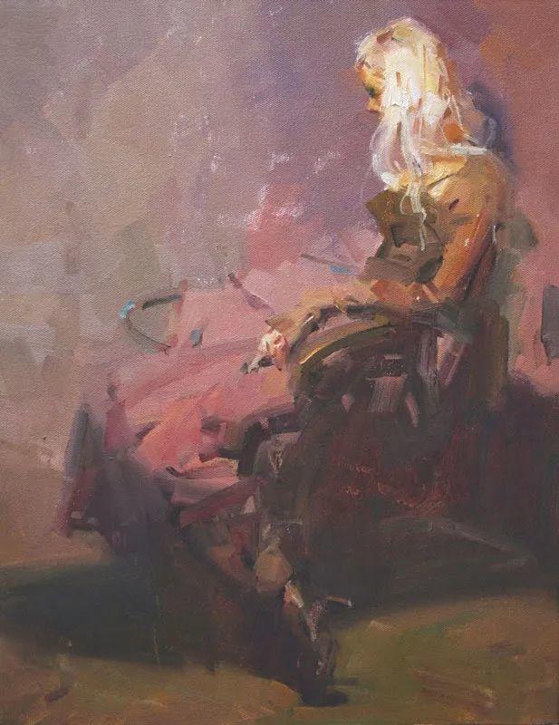 油画大师吴兆铭,于色彩中寻求艺术的真谛!插图163