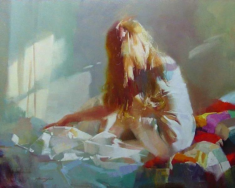 油画大师吴兆铭,于色彩中寻求艺术的真谛!插图167