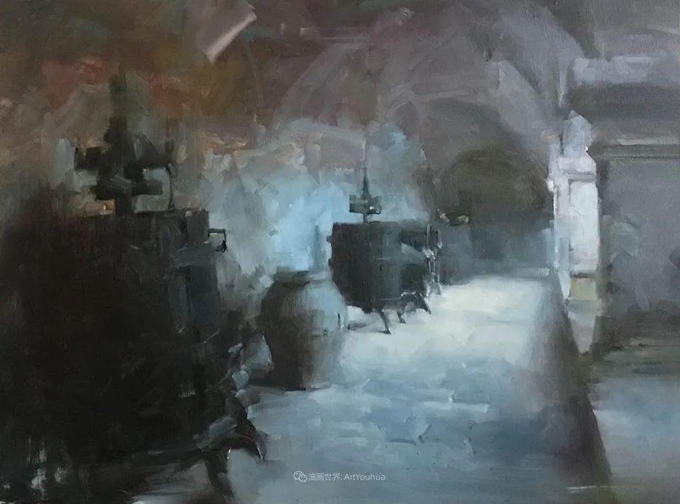风景与肖像,油画大师吴兆铭作品插图25