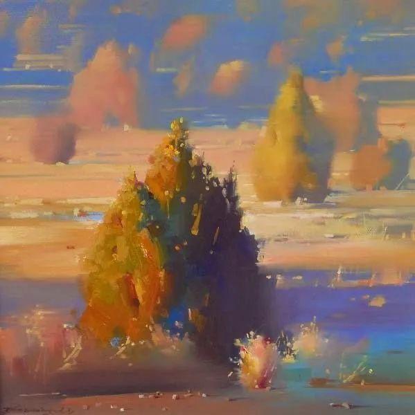 风景与肖像,油画大师吴兆铭作品插图47
