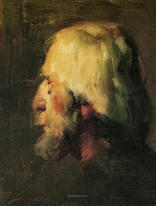 风景与肖像,油画大师吴兆铭作品插图56