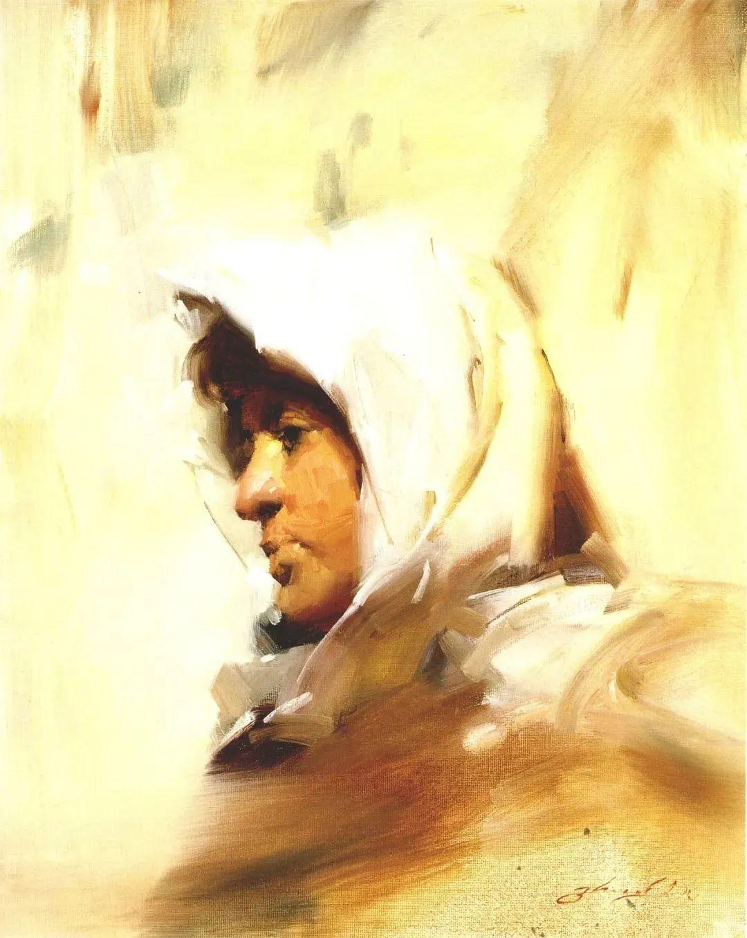 风景与肖像,油画大师吴兆铭作品插图68