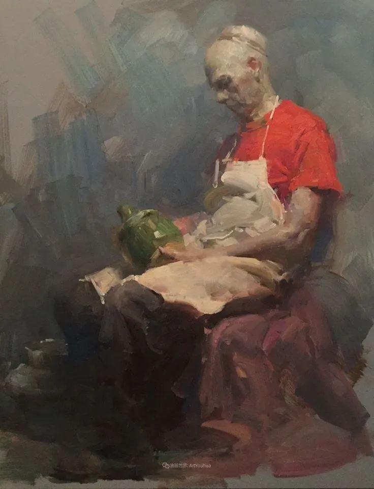 风景与肖像,油画大师吴兆铭作品插图96