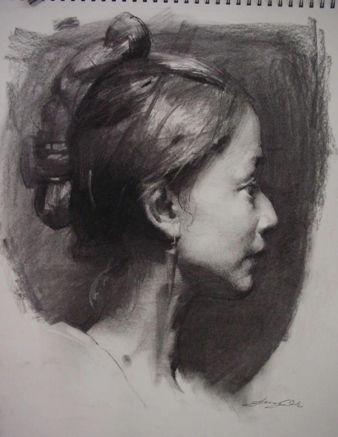 吴兆铭的素描人物,富有独特生命及魅力!插图33