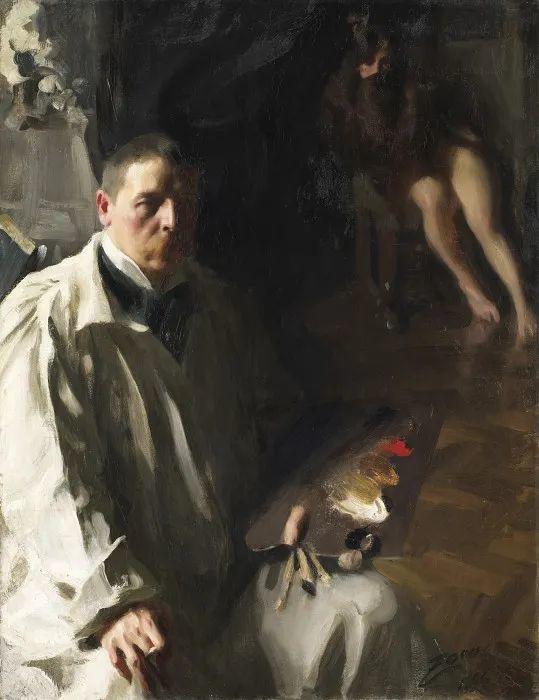 他为多位总统/国王画过肖像,瑞典画家安德斯·佐恩插图1