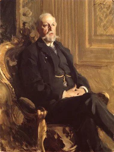 他为多位总统/国王画过肖像,瑞典画家安德斯·佐恩插图2