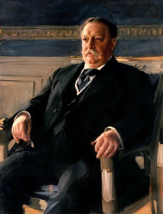 他为多位总统/国王画过肖像,瑞典画家安德斯·佐恩插图4