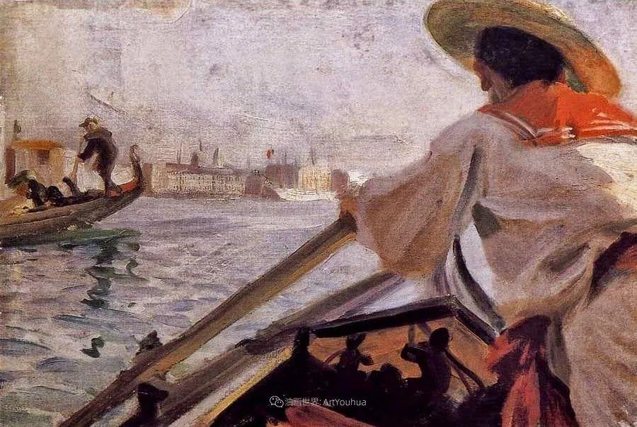 他为多位总统/国王画过肖像,瑞典画家安德斯·佐恩插图18