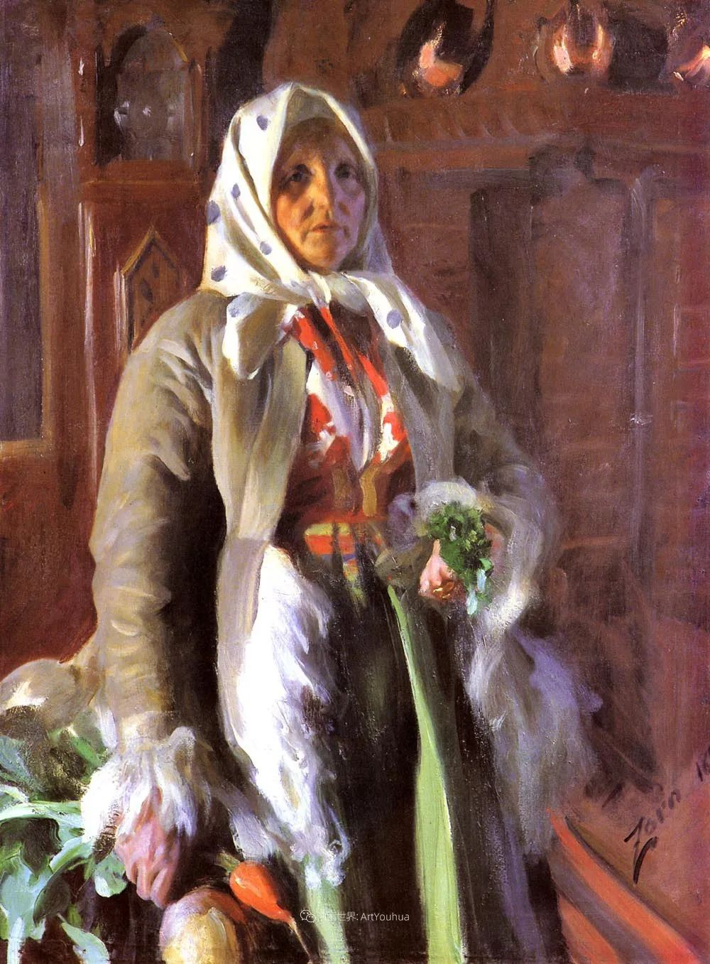 他为多位总统/国王画过肖像,瑞典画家安德斯·佐恩插图21