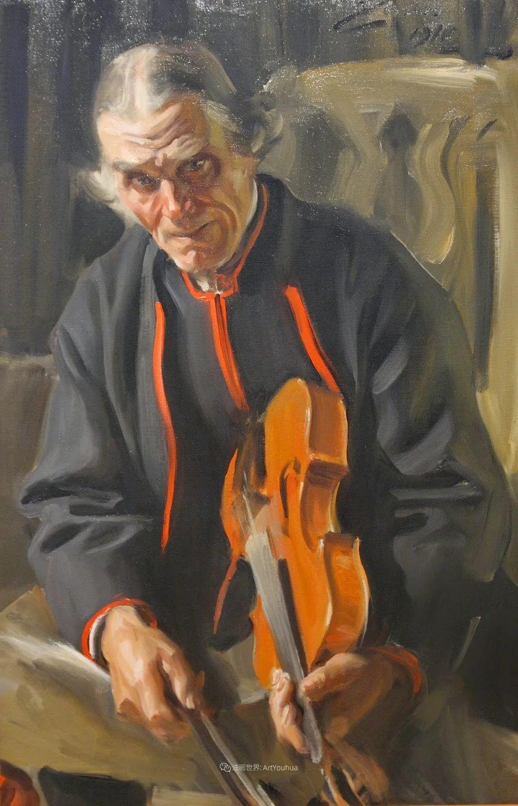 他为多位总统/国王画过肖像,瑞典画家安德斯·佐恩插图35
