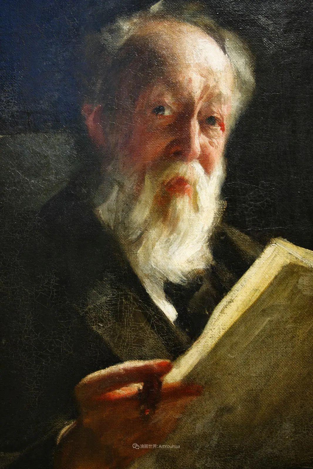 他为多位总统/国王画过肖像,瑞典画家安德斯·佐恩插图36