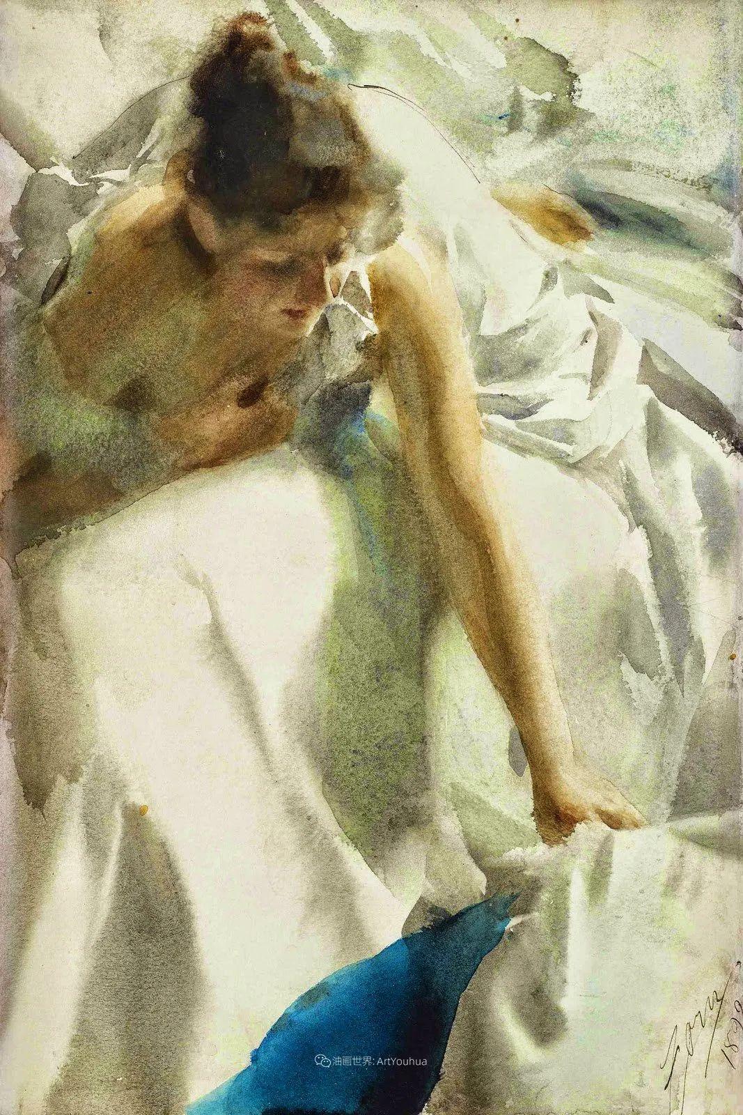 他为多位总统/国王画过肖像,瑞典画家安德斯·佐恩插图55