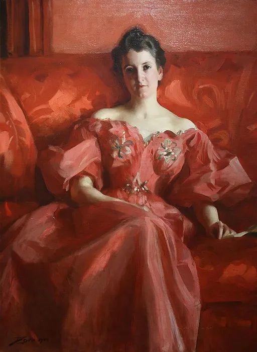 他为多位总统/国王画过肖像,瑞典画家安德斯·佐恩插图56
