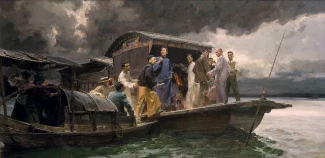 国美教授何红舟,绘画作品精选插图23