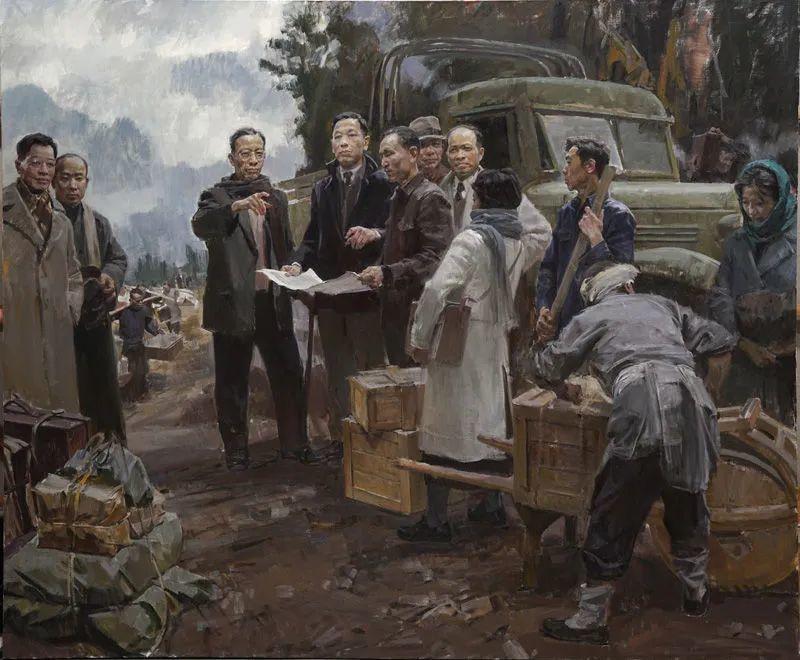 国美教授何红舟,绘画作品精选插图29