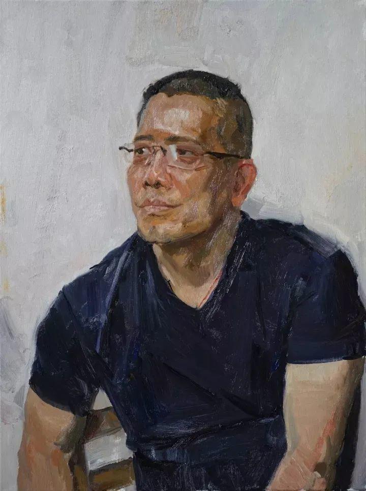 国美教授何红舟,绘画作品精选插图53