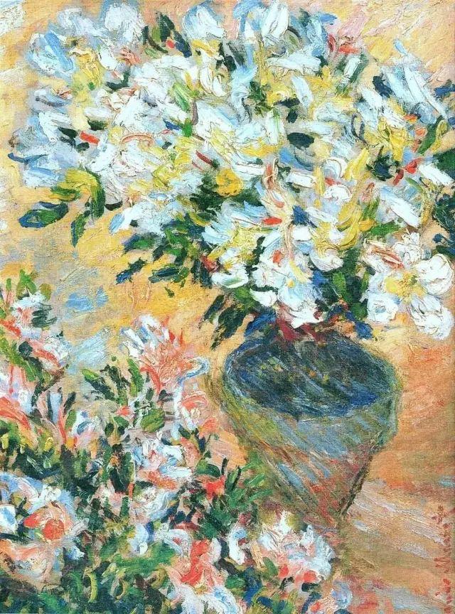 19世纪花园风景,看看那整片盛开的鲜花!插图1
