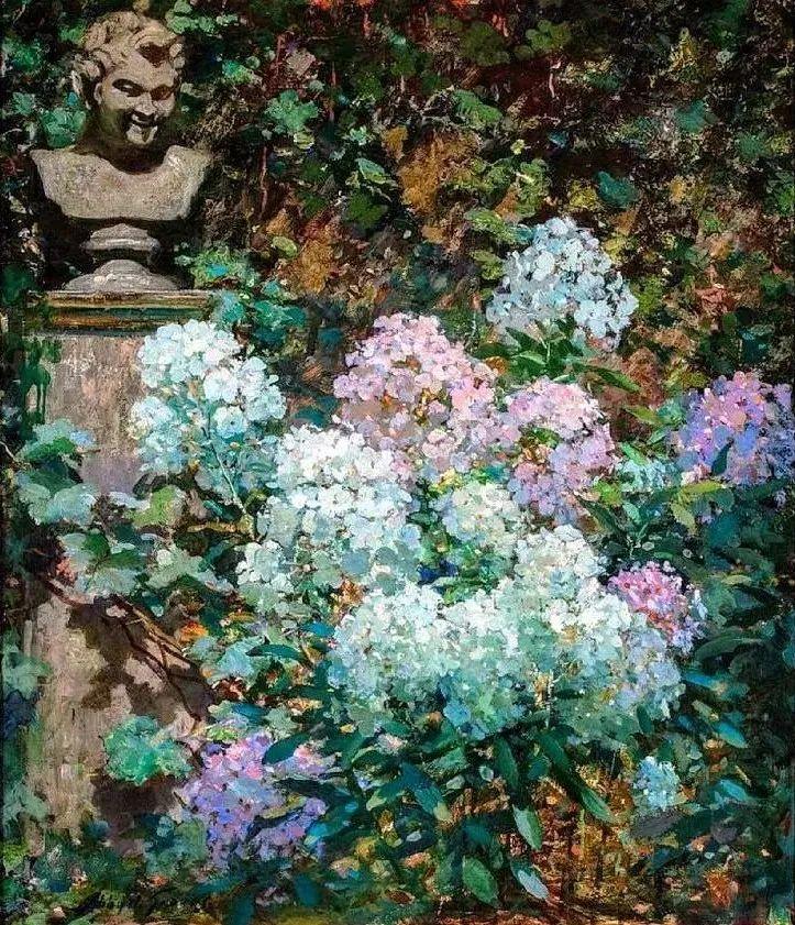 19世纪花园风景,看看那整片盛开的鲜花!插图33