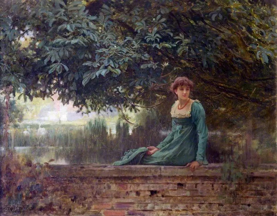 19世纪花园风景,看看那整片盛开的鲜花!插图47