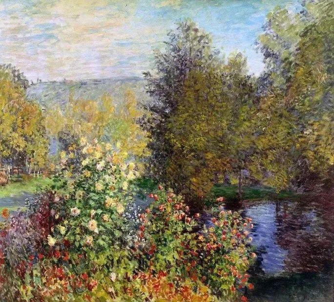 19世纪花园风景,看看那整片盛开的鲜花!插图53