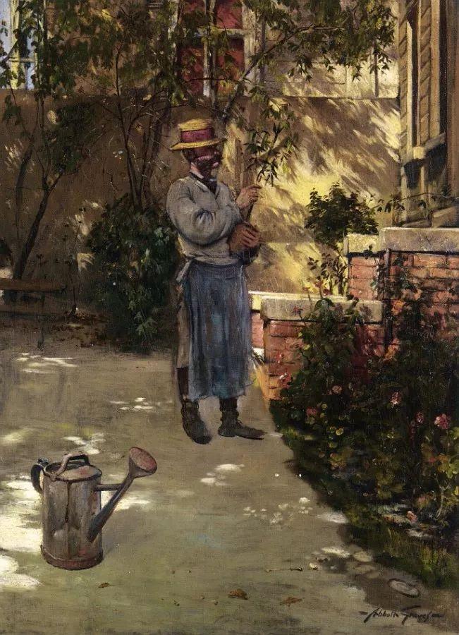19世纪花园风景,看看那整片盛开的鲜花!插图61