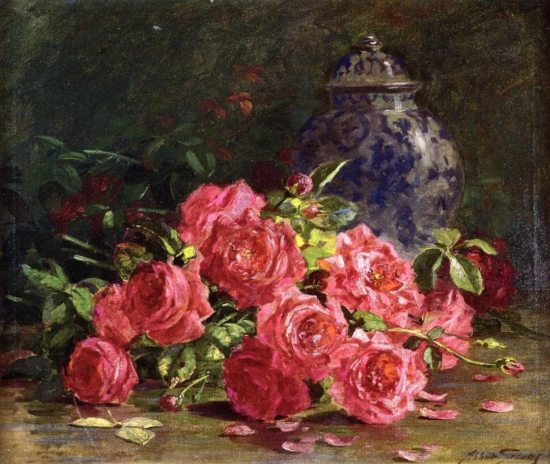 19世纪花园风景,看看那整片盛开的鲜花!插图81