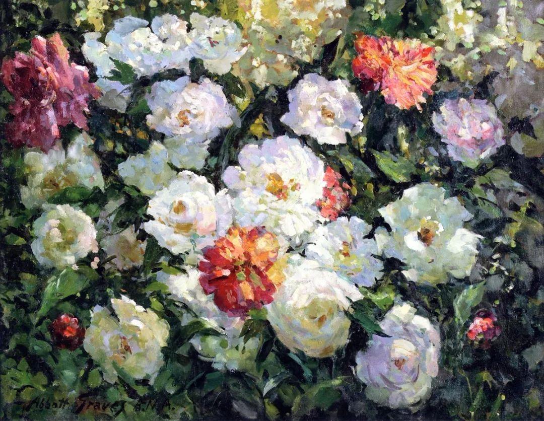 19世纪花园风景,看看那整片盛开的鲜花!插图85
