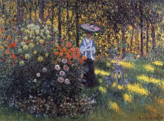 19世纪花园风景,看看那整片盛开的鲜花!插图99
