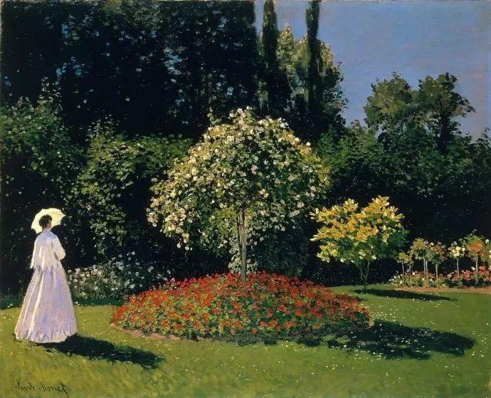 19世纪花园风景,看看那整片盛开的鲜花!插图103