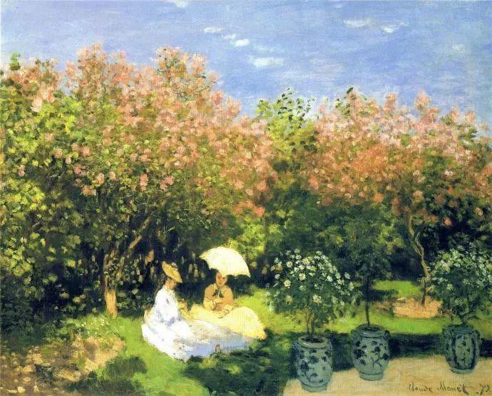 19世纪花园风景,看看那整片盛开的鲜花!插图105