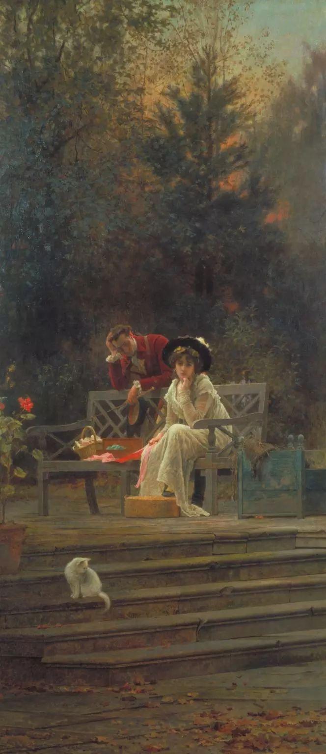 19世纪花园风景,看看那整片盛开的鲜花!插图113