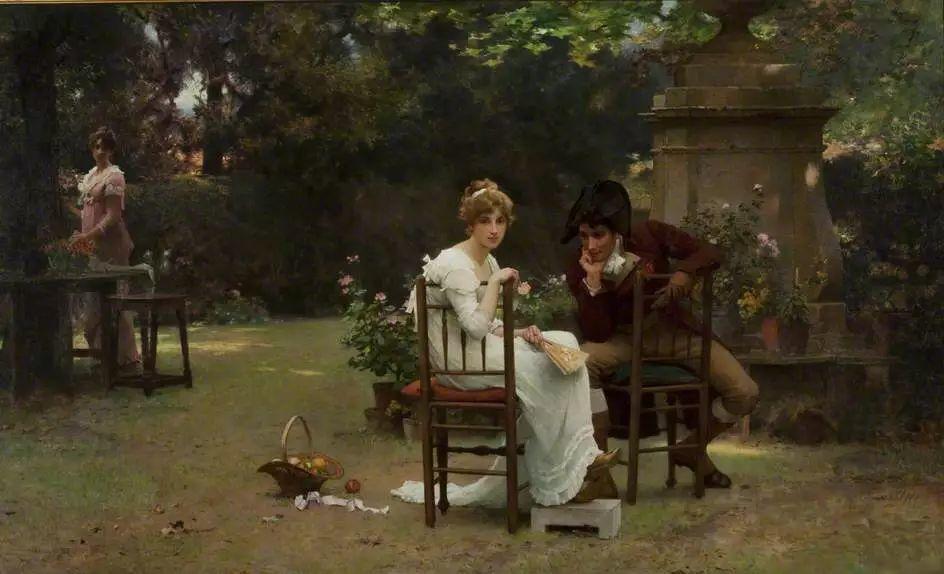 19世纪花园风景,看看那整片盛开的鲜花!插图115