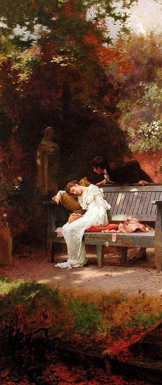 19世纪花园风景,看看那整片盛开的鲜花!插图121
