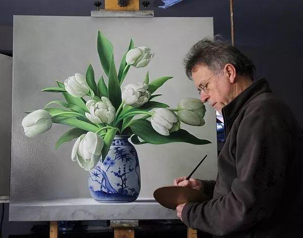唯美花卉油画,比利时Pieter Wagemans作品插图5