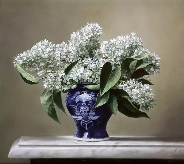 唯美花卉油画,比利时Pieter Wagemans作品插图11