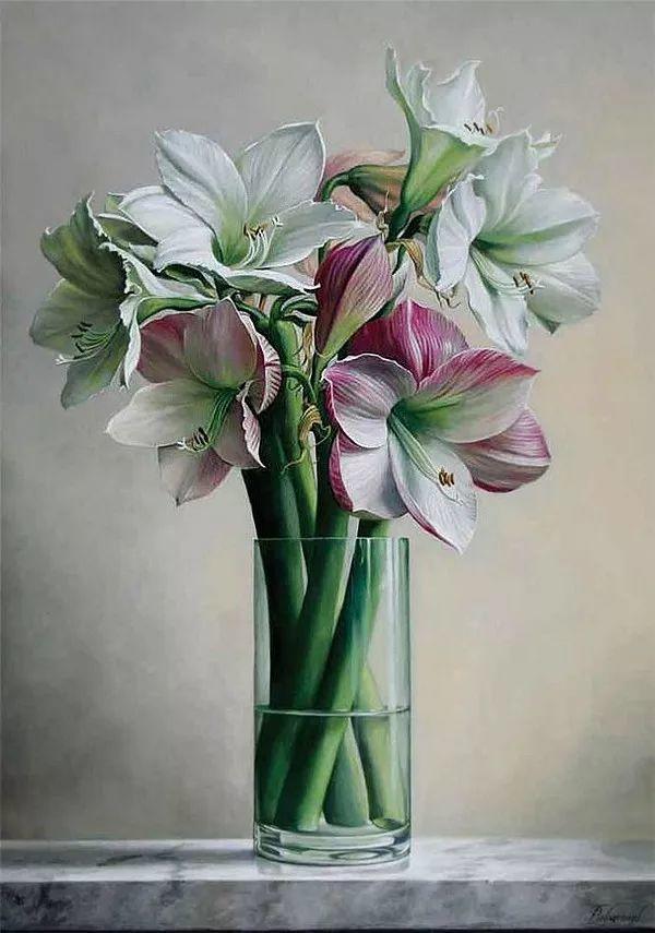 唯美花卉油画,比利时Pieter Wagemans作品插图19