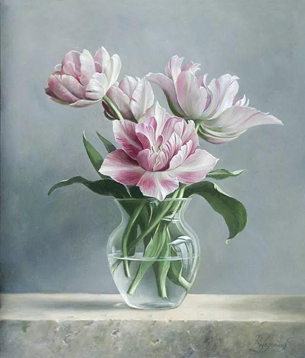 唯美花卉油画,比利时Pieter Wagemans作品插图23