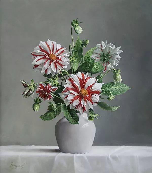 唯美花卉油画,比利时Pieter Wagemans作品插图25