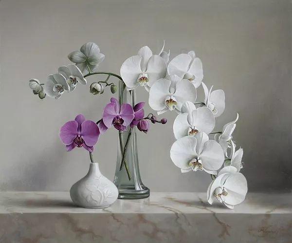 唯美花卉油画,比利时Pieter Wagemans作品插图29