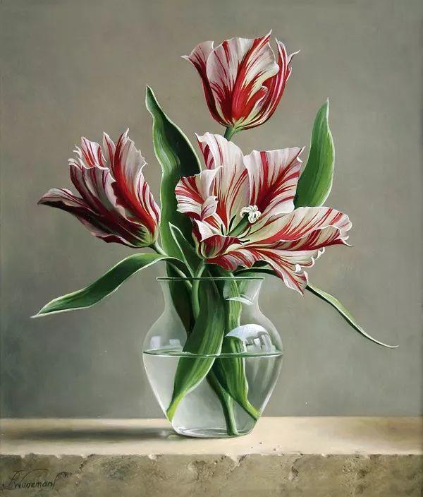 唯美花卉油画,比利时Pieter Wagemans作品插图31