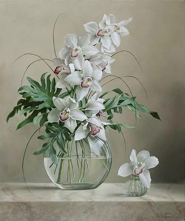 唯美花卉油画,比利时Pieter Wagemans作品插图33