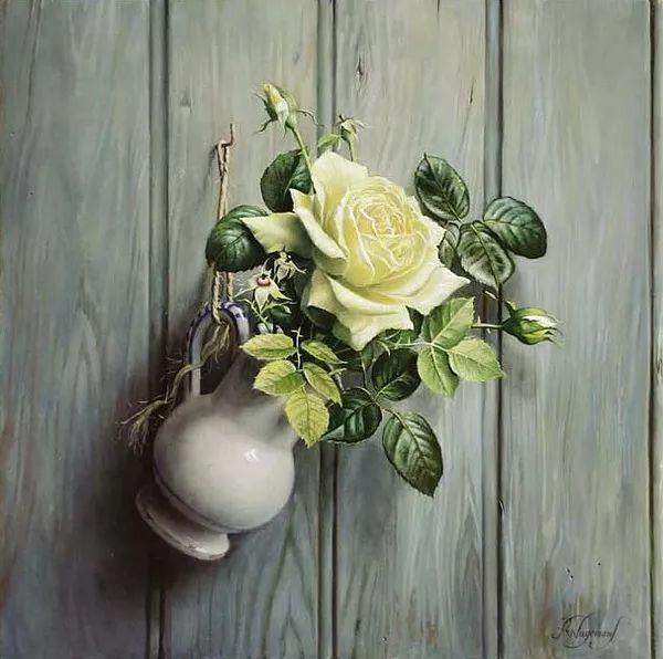 唯美花卉油画,比利时Pieter Wagemans作品插图45