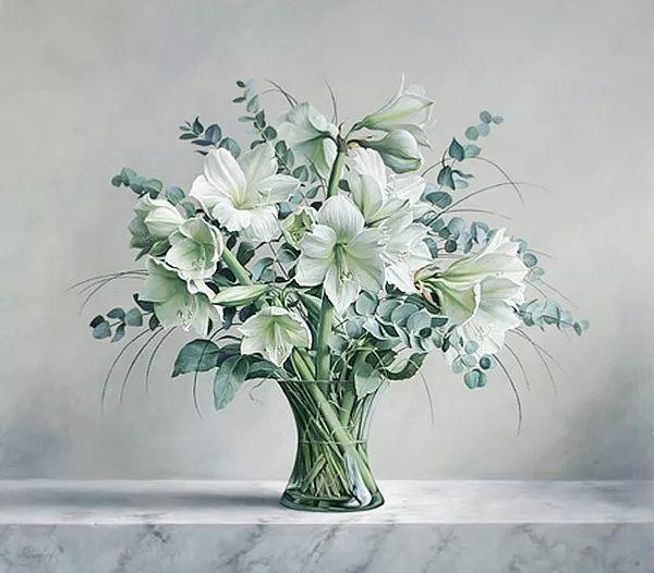 唯美花卉油画,比利时Pieter Wagemans作品插图55