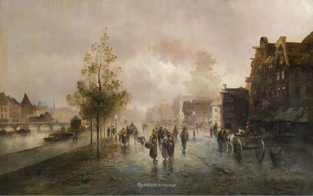 100多年前,迷人的维也纳风景,小城集市!插图81