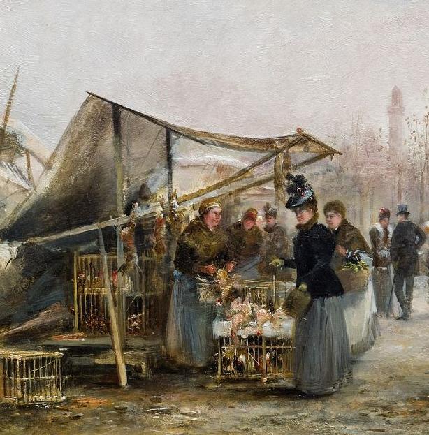 100多年前,迷人的维也纳风景,小城集市!插图107