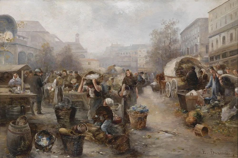 100多年前,迷人的维也纳风景,小城集市!插图119