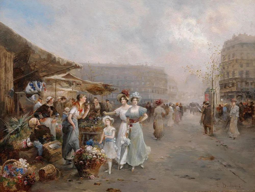 100多年前,迷人的维也纳风景,小城集市!插图131