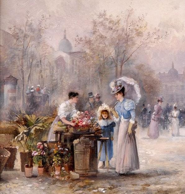 100多年前,迷人的维也纳风景,小城集市!插图145
