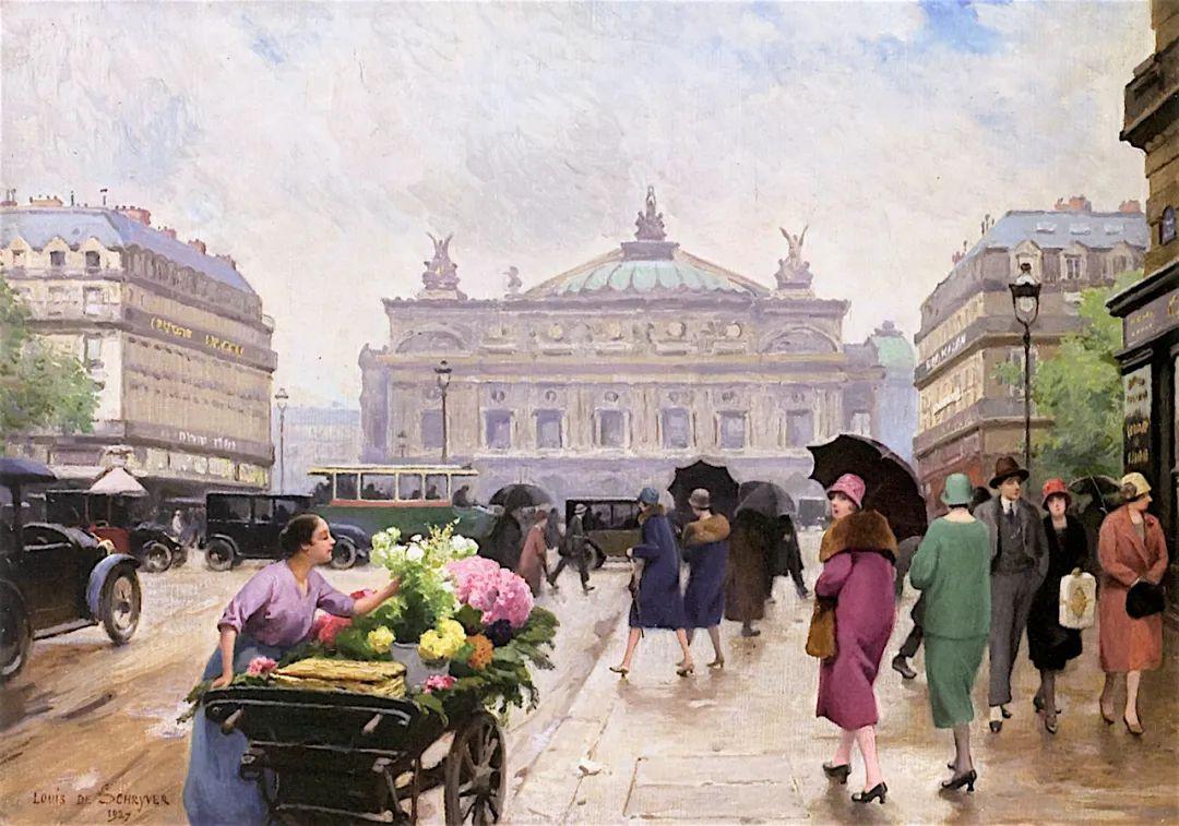 100年多前,她们是这样摆摊卖花的,好美的画面!插图40